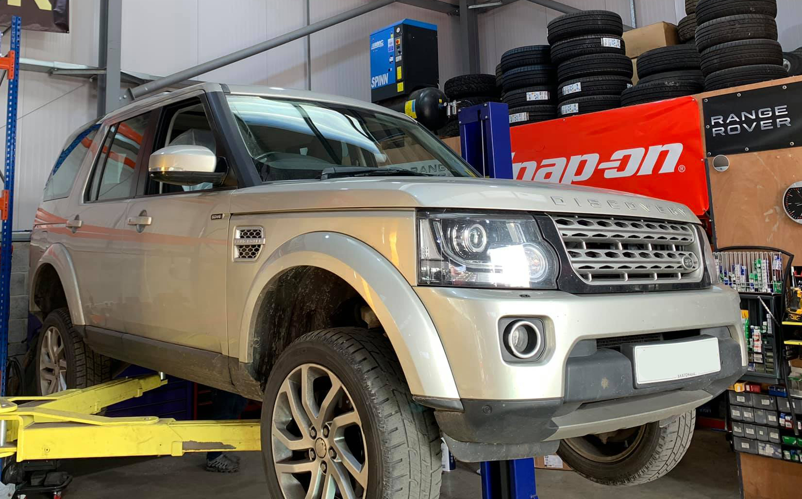 Discovery Air Suspension Fault